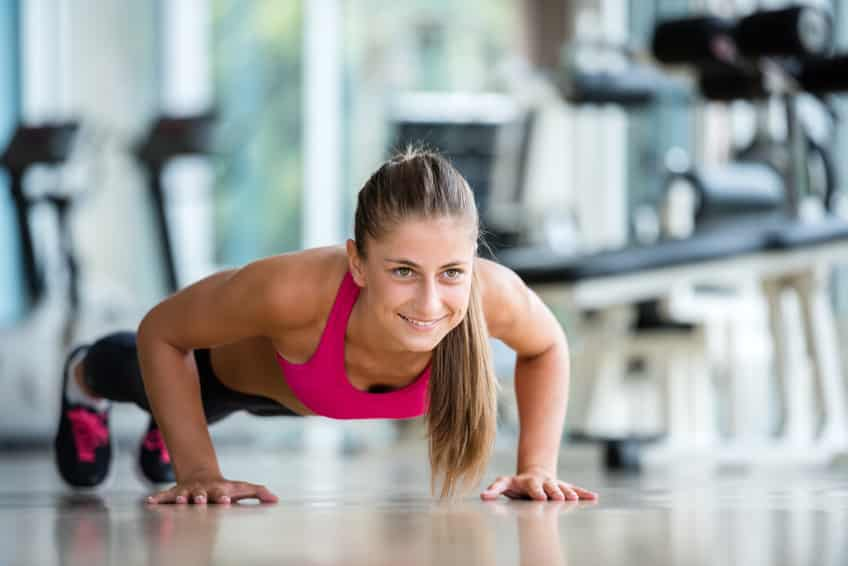 femme remise en forme fitness