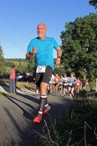 Préparation sportive, course à pieds