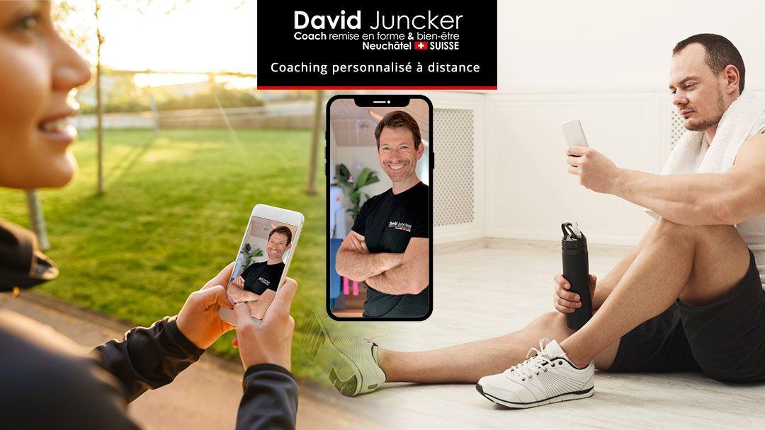 Coaching à distance. Sport, santé, forme, alimentation.